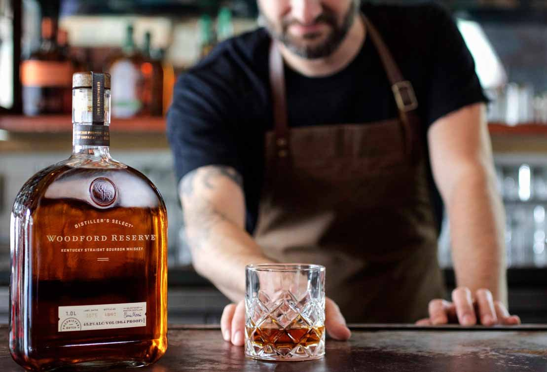 This is a graphic of Transformative Woodford Reserve Personalized Label Program