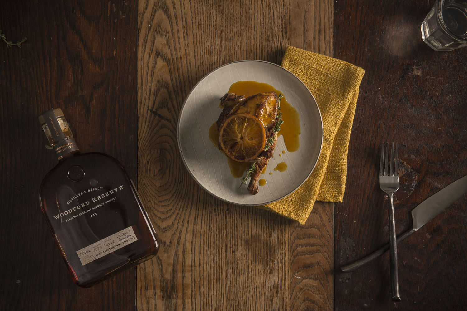 Woodford Reserve Chicken a L'Orange