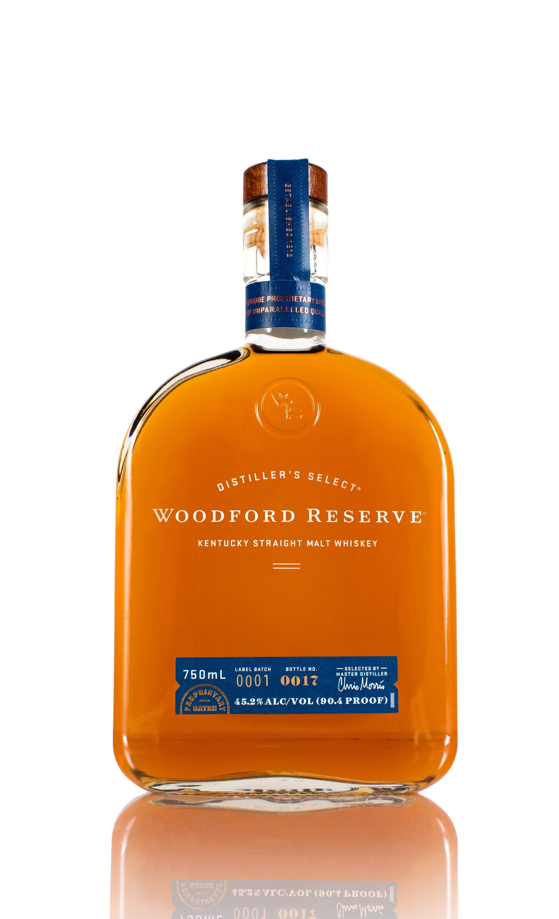 It's just a picture of Crazy Woodford Reserve Personalized Label Program